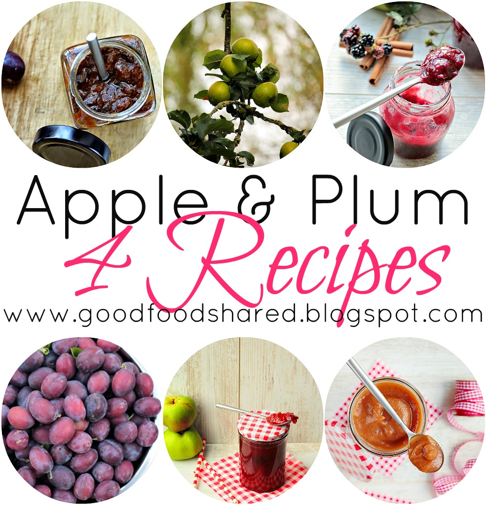 Have a glut of Apples and Plums? Try one (or all) of these tried and tested recipes. www.goodfoodshared.blogspot.com