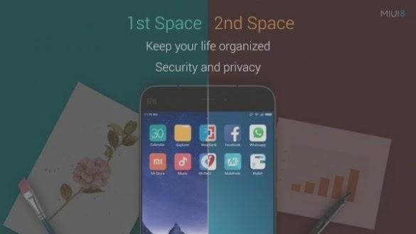 Cara Gampang Memakai Second Space Di Hp Xiaomi Miui 7 Dan 8.