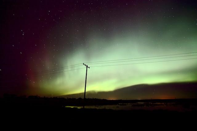 В Швеции во время северного сияния удалось записать необычные звуки