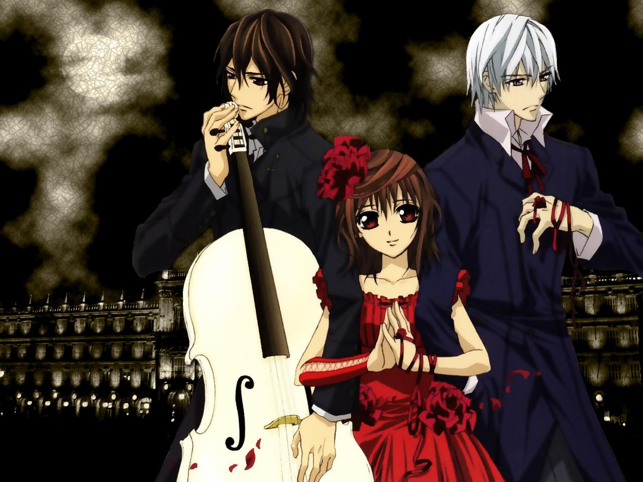 Tania cosplay vampire knight and vampire knight guilty - Vampire knight anime wallpaper ...