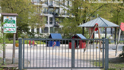 Spielplatz in Eilbek in Hamburg