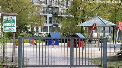 Spielplatz in Eilbek in Hamburg