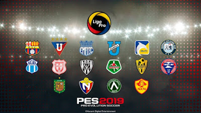 PES 2019 PS4 Option File Liga Pro Ecuador Season 2019