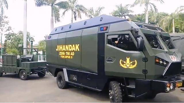 Jelang KTT OKI, Mobil jihandak TNI siaga di Bandara Halim