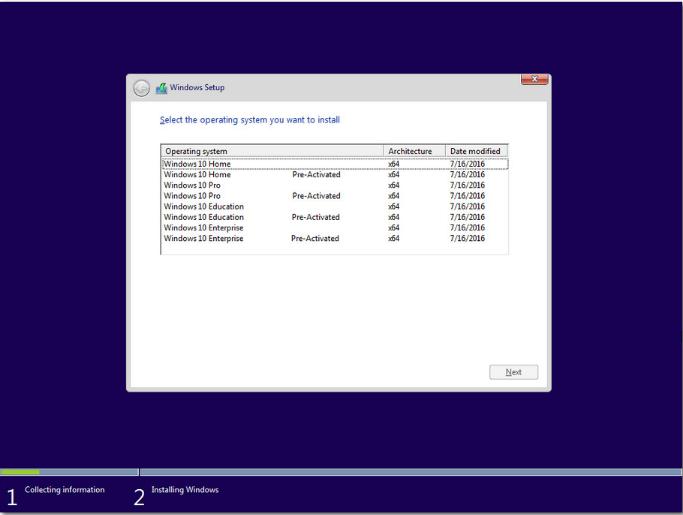 Windows 10 Pro X64 Build 14393 1537 en-GB Aug 2017 {Gen2