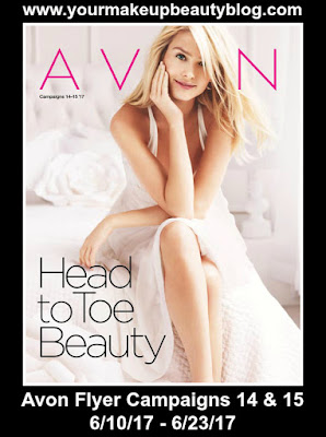 Shop Avon Flyer Campaigns 14 & 15 | Good Through 6/10/17 - 6/23/17