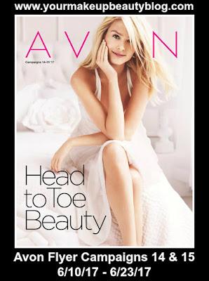 Shop Avon Flyer Campaigns 14 & 15 | Good Through 6/10/17 - 6/23/17