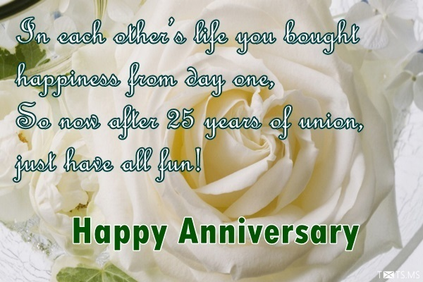 Th wedding anniversary wishes for wife silver jubilee quotes