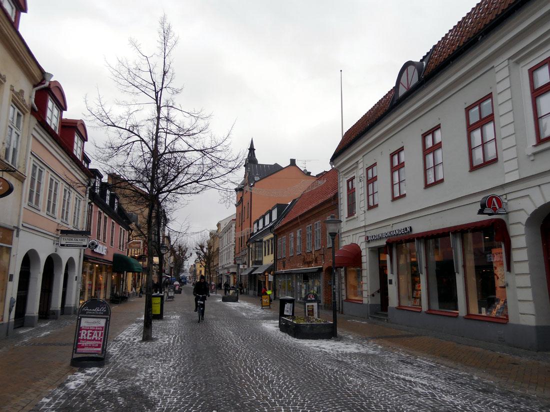 Västra Storgatan i Kristianstad