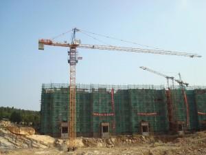 Cho thuê cẩu tháp Zomila tại Hải Phòng 2017