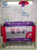 Baby Box Creative Baby B808R Pack n Play - Purple