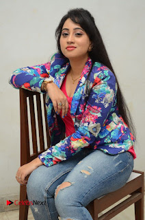 Television Anchor Actress Ashwini Pictures in Jeans at Iddharam Audio Launch  0037