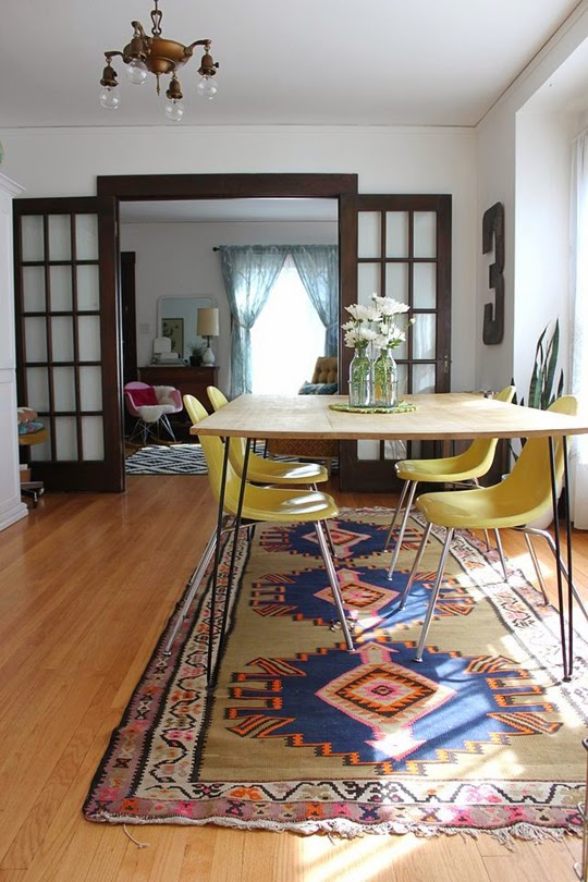 dining room Smile and Wave diy