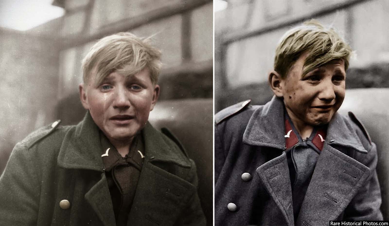 Colorized versions (from two different artists).