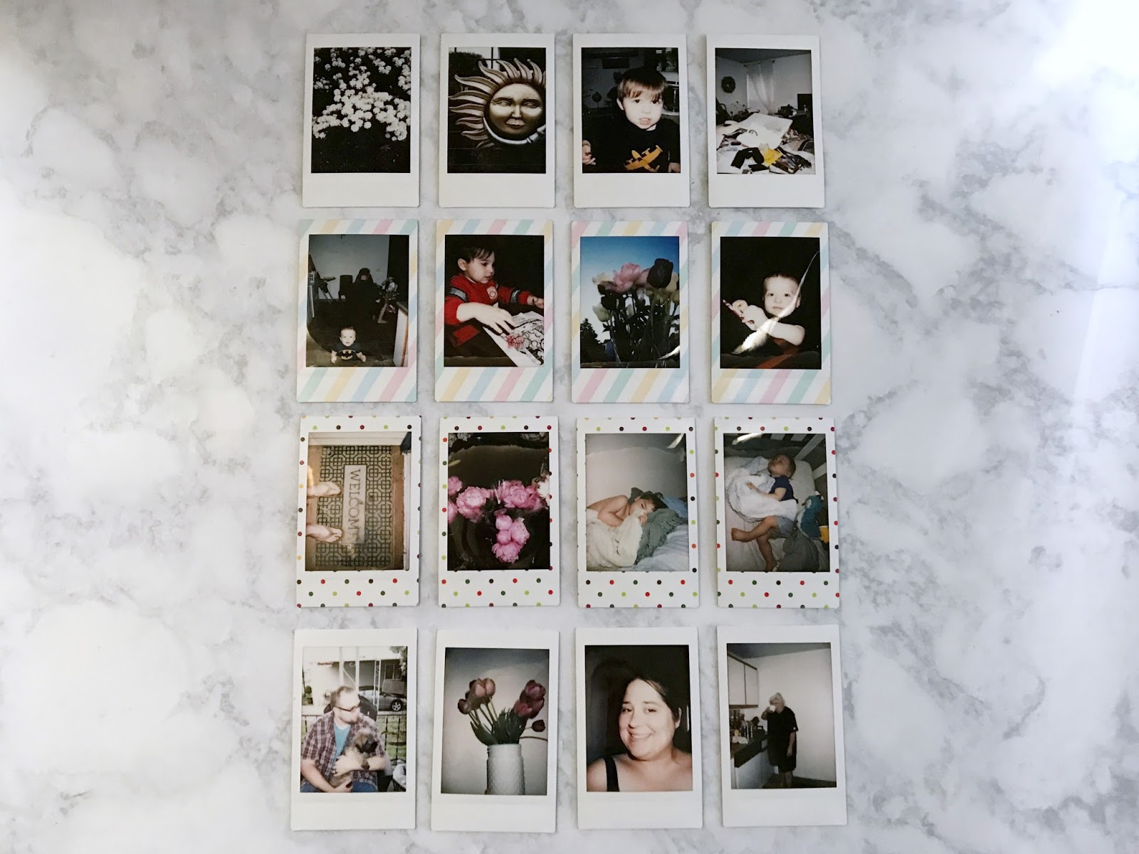 my month in Polaroids