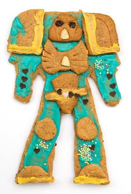 gingerbread space marine 2