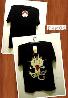 Kaos Distro POKEMON Premium Kode: PKM02