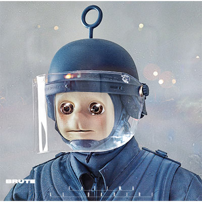 The 10 Best Album Cover Artworks of 2016: 01. Fatima Al Qadiri - Brute