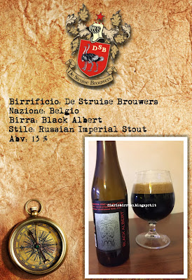 De Struise - Black Albert diario birroso blog birra artigianale