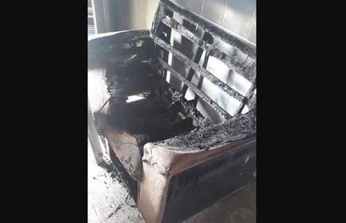 Creche é incendiada em Caucaia na manhã desta quarta-feira, em 8º dia de ataques