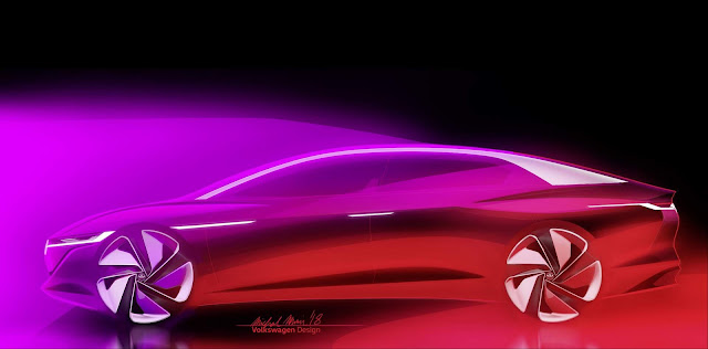 VW I.D. Vizzion será apresentado no Salão de Genebra