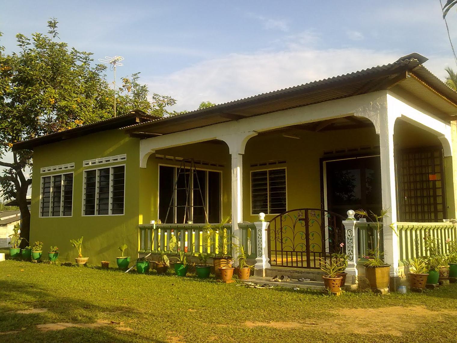Kombinasi warna cat luaran untuk rumah moden minimalis ...