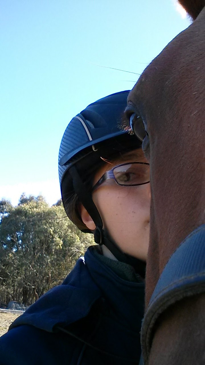 Me my god and maverick afternoon ride for Where can i go horseback riding near me