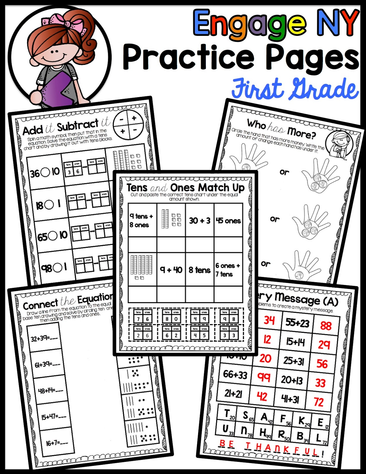 Sneaking In Standards Engage Ny Math Practice Pages Module 6