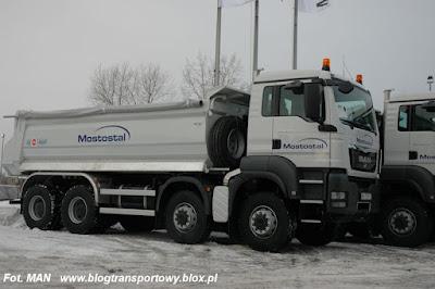 MAN TGS 41.440 8x8 BB z zabudową KH-KIPPER, Mostostal Warszawa
