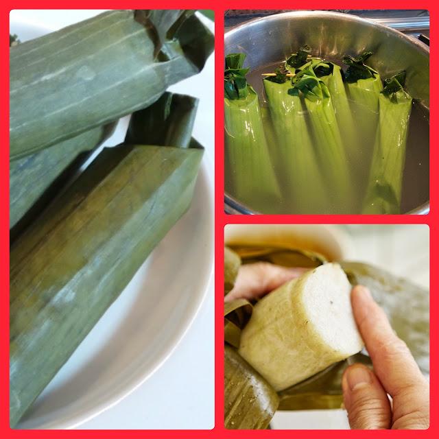 Bosan makan Nasi...? Berikut adalah Tips membuat Lontong yang Fresh dan Lezat!!!