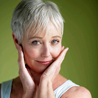 Pixie haircut style for older women
