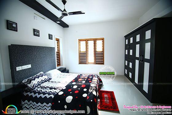 Bedroom 3 furnished interior