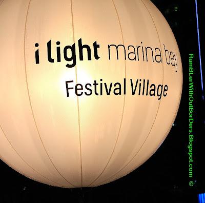 lantern, i light Marine Bay festival, Singapore