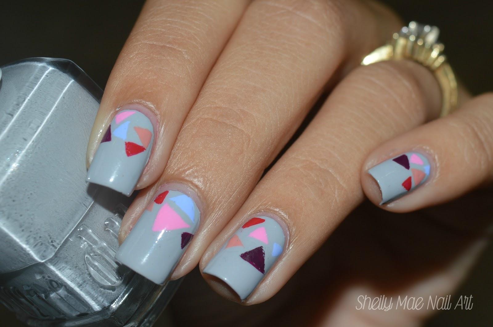 Fall Nail Art using Duri Cosmetics Nail Polishes - Sheily Mae Nail Art