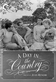 A Day in the Country movie poster Criterion
