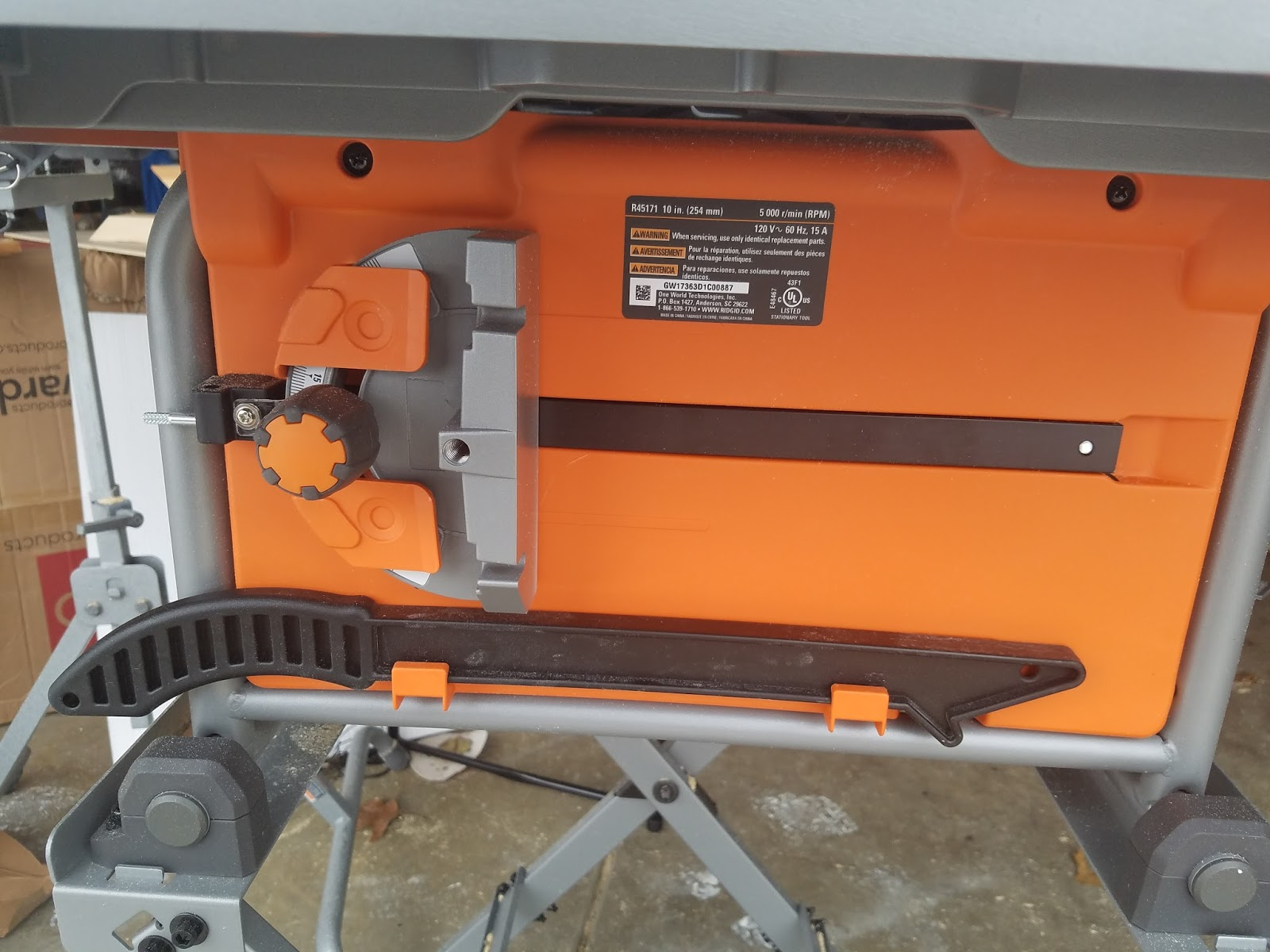 Tool Review Zone The New Ridgid 10 Compact Table Saw Is
