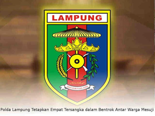 Polda Lampung Tetapkan Empat Tersangka dalam Bentrok Antar Warga Mesuji