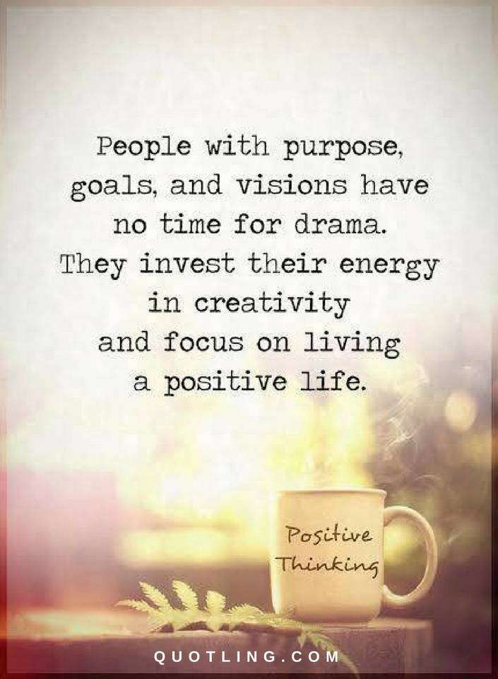 Quotes People With Purpose Goals And Visions Have No Time For Enchanting Purpose Quotes