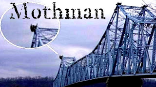 Une photo du Mothman