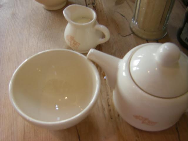 Tea in South Ken at Le Pain Quotidien
