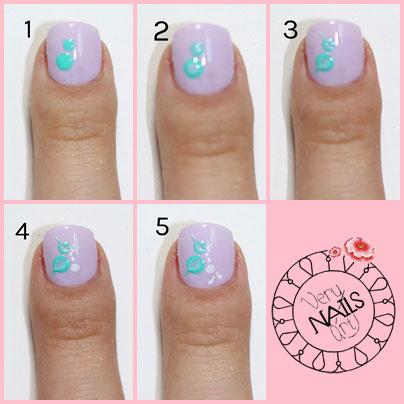 Diseño De Uñas De Mariposa Con Esmalte Verynailsart Blog De Uñas