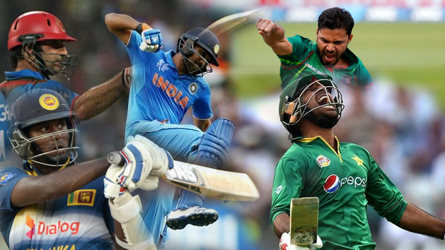 Asia Cup 2018 Teams And Players