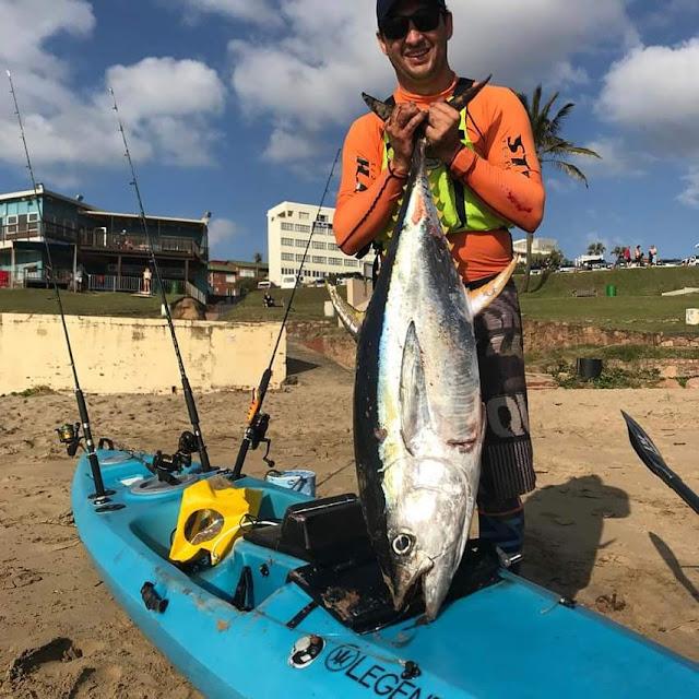 Kayak Fishing with Legend Kayaks NEW fishing ski!