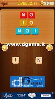 fai delle parole in italiano soluzione livello 11