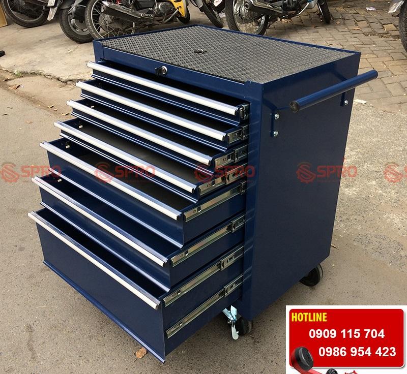 Tủ đồ nghề sửa xe máy, ô tô 7 ngăn kéo giá rẻ tại tp HCM