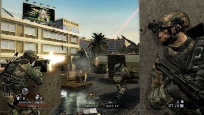 Game shooter Tom Clancy's Rainbow Six Vegas