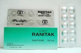 دواعى إستعمال رانيتاك Ranitak لعلاج قرحة المعدة والأثنى عشر