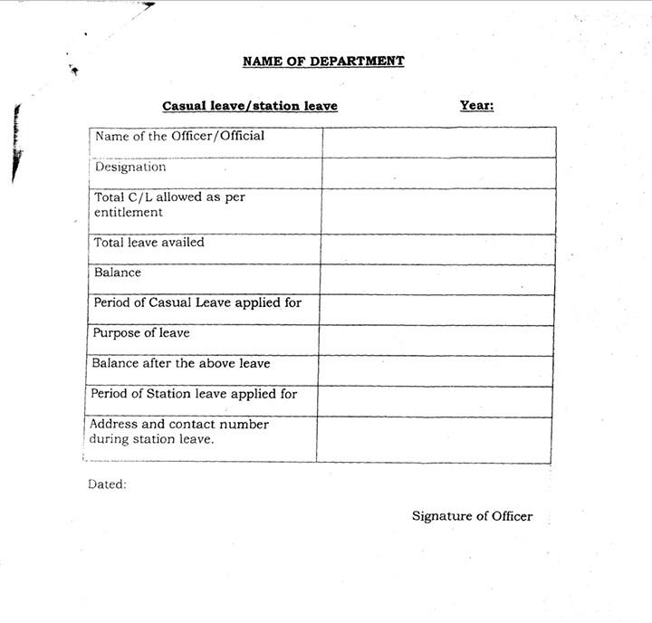 Casual leave performa haryana education deprtment teacher haryana casual leave performa haryana education deprtment spiritdancerdesigns Choice Image