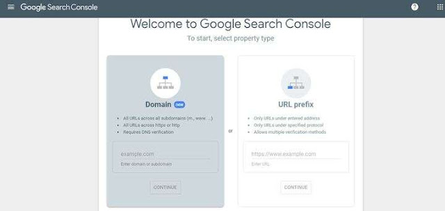 Set up a Google Search Console