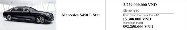 Giá xe Mercedes S450 L Star 2018 tại Mercedes Trường Chinh